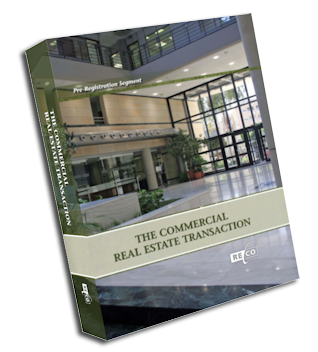 Real Estate Transaction Commercial Course Book cover
