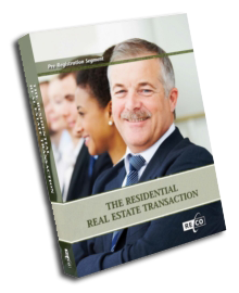 Real Estate Transaction Residential Course Book Cover