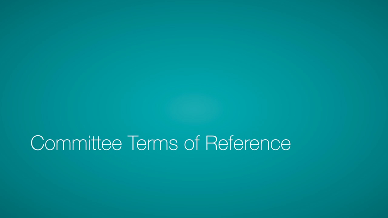 Committee Terms of Reference Video Icon