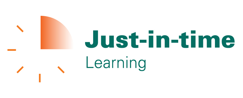 Just-in-time Learning Video logo