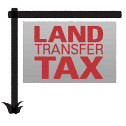 Land Transfer Tax sign