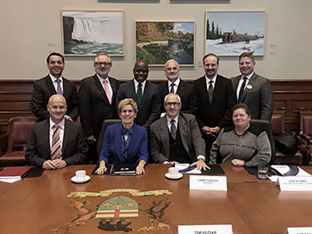 Toronto Real Estate Board (TREB) met with Premier Kathleen Wynne