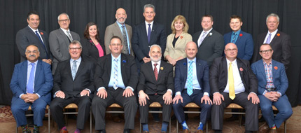 OREA Board of directors 2017